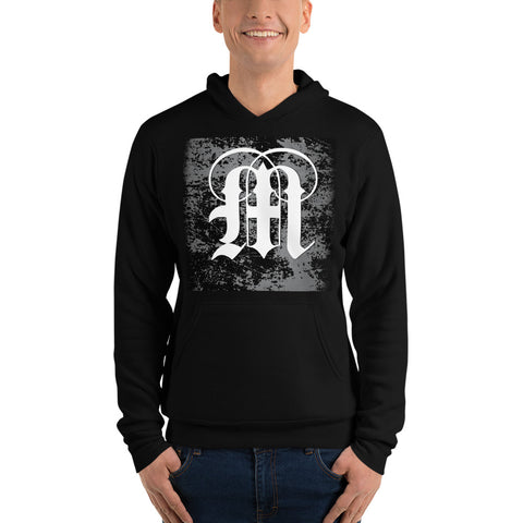 Coded Limited Edition Letter M Unisex hoodie