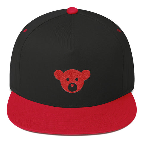 DeepLevel Limited Edition RedBear HEAD Flat Bill Cap