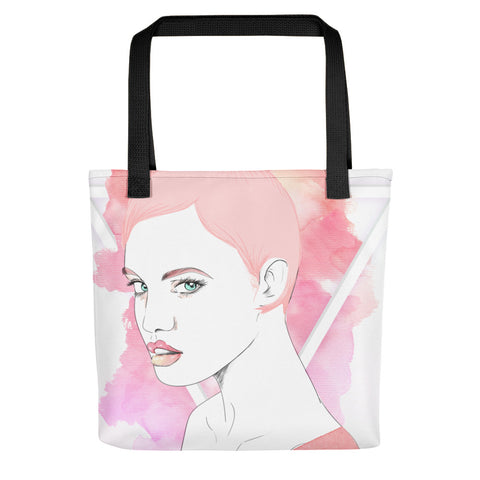 PopRee Limited Edition Not Like Others Pink v7 Tote bag