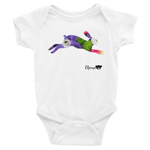 ElyDays Limited Designer Animal Edition  Infant Bodysuit