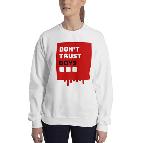 Coded Limited Edition Dont Trust Boys  Women Sweatshirt