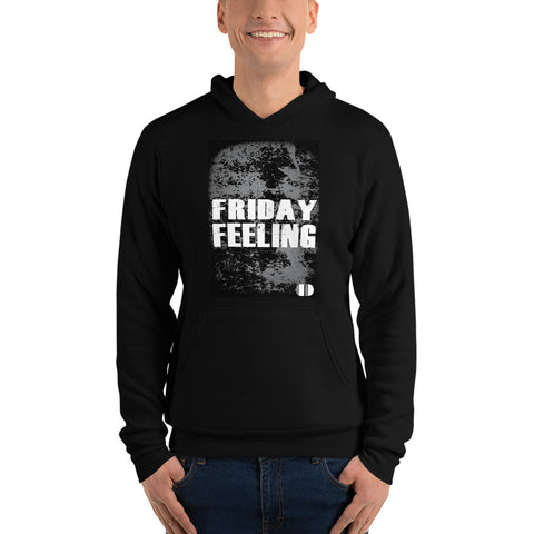 Coded Limited Edition Quote Friday Feeling Unisex hoodie