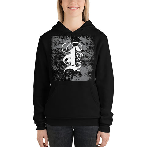 Coded Limited Edition  Letter L Unisex hoodie