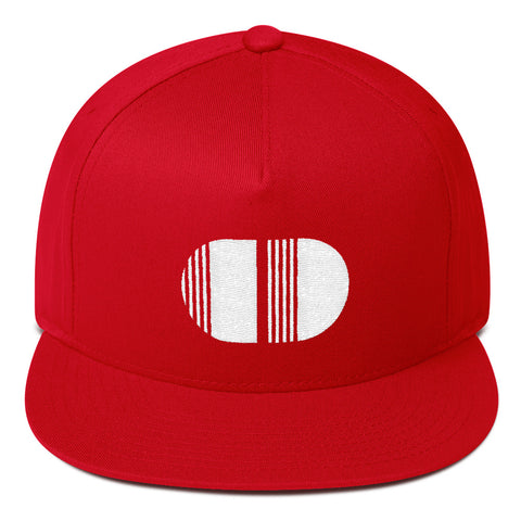 Coded Style Limited Edition Red v2 Flat Bill Cap