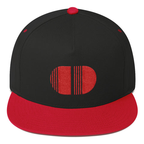 Coded Style Limited Edition RED Flat Bill Cap