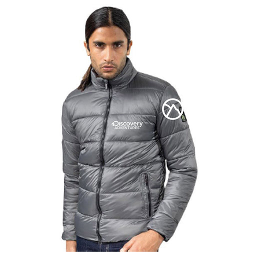 Discovery Adventures Mountain Icon Mens Puffer Jacket