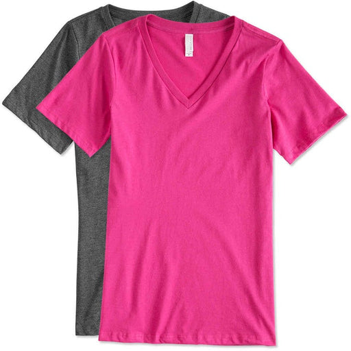 Personalised Womens V Neck T-Shirt