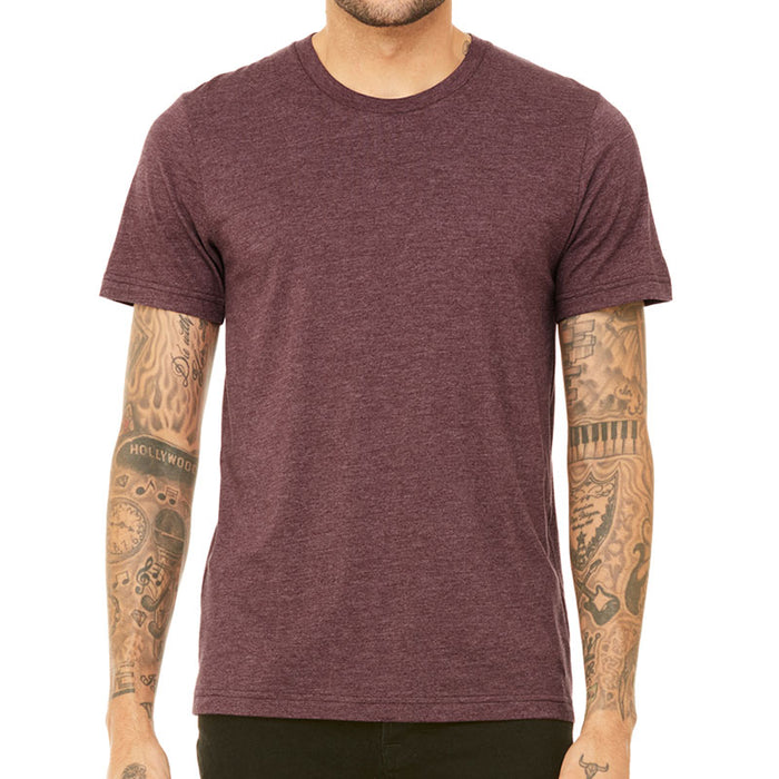 Personalised Unisex Heather T-Shirt