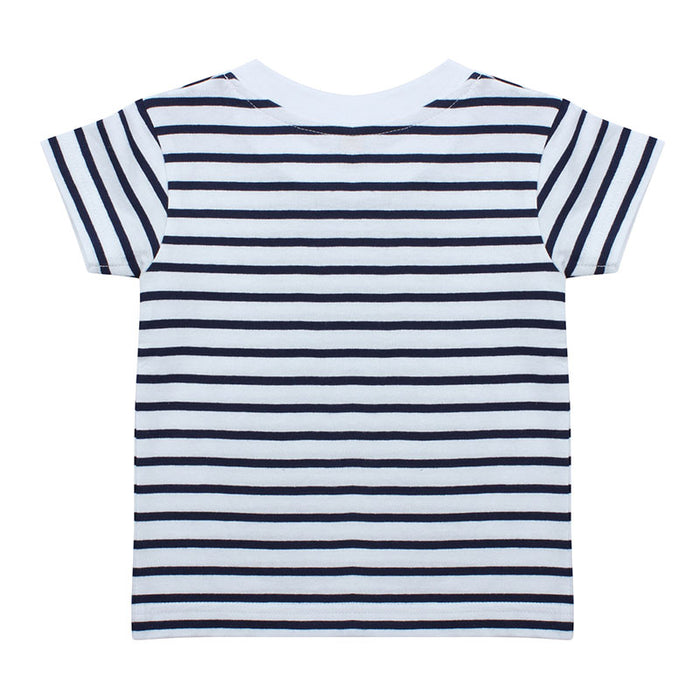 Personalised Baby Striped T-Shirt