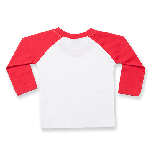 Personalised Baby Baseball T-Shirt