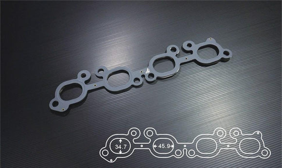 SIRUDA EXHAUST MANIFOLD GASKET FOR  MITSUBISHI 4G93 1.2mm