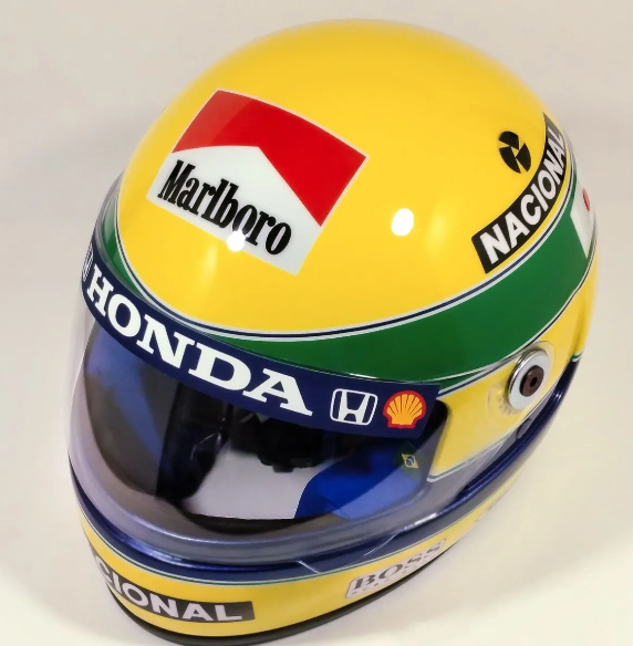 Ayrton senna helmet year 1992 F1 - GP JAPAN replica full size Never used Ayrton Senna Da Silva