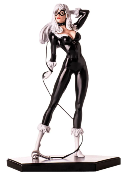 Original Miniature Black Cat 1/10 Art Scale Marvel Comics SERIE 3 - Iron Studios