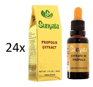 Lot of 24x30ml Sunyata Golden Bee Alcoholic Green Propolis Extract - Pon Lee