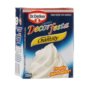 Creme Tipo Chantilly Dr. OETKER Decorfesta 200ml
