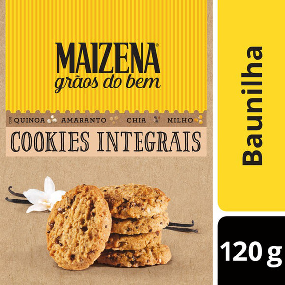 Cookie Integral MAIZENA Baunilha 120g
