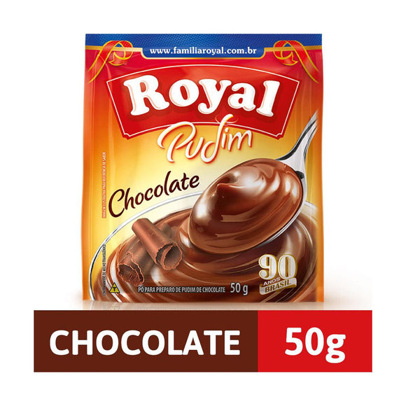 Pudim Sabor Chocolate ROYAL 50g
