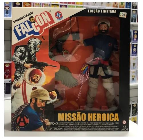 Estrela Heroic Mission Climbing Eagle Mountain Articulated Miniature Collectible