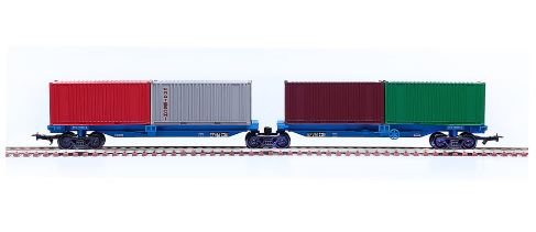 PCD 2075 Container Door Wagon FRATESCHI Plastic Miniature Collection Figure
