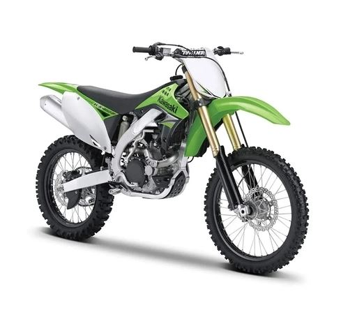 Kawasaki Kx 450f 1:12 Maisto Metal Motocycle Miniature Collection Automotive