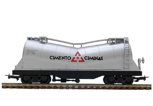 Ciminas 2045 Cement Tank Wagon FRATESCHI Miniature Modeling Collection Figure