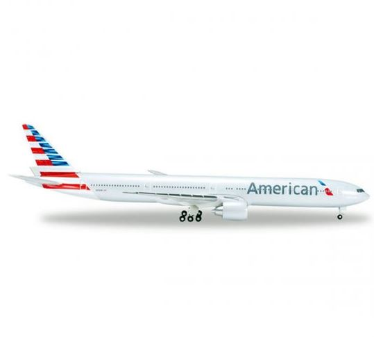American Airlines Boeing 777 Metal Commercial Air Plane Collection Miniature
