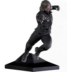Captain America Civil War Winter Soldier 1/10 Brazilian Original Iron Studios