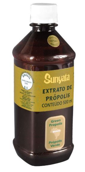 Brazilian Original Bee Alcoholic Propolis Extract Sunyata Golden 500ml - Pon Lee