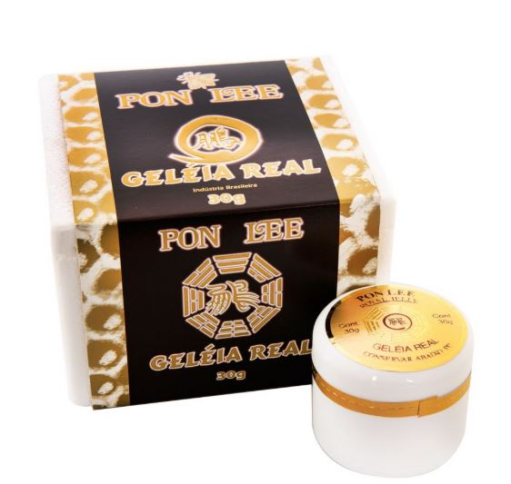 Brazilian Original Traditional Natural Bee Pure Royal Jelly Honey 40g - Pon Lee