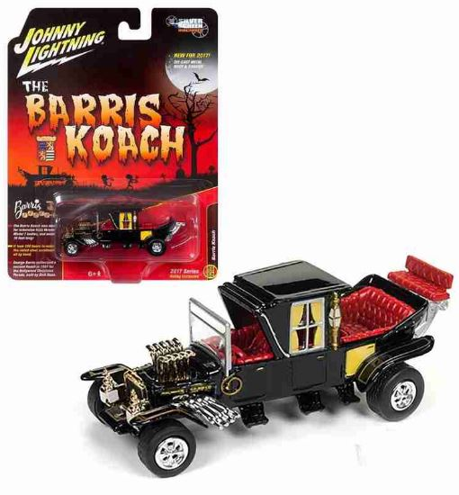 The Barrels Koach Car Monster Family 1:64 Johnny Lightning Miniature Collection