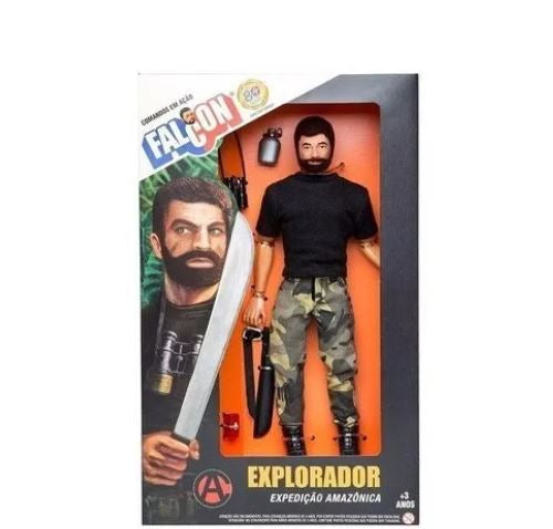 Estrela Falcon Explorer Action Commands Articulated Toy Miniature Collectible