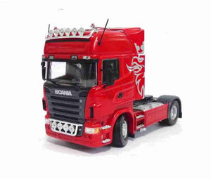 Scania R580 Limited Edition 1:50 Red Universal Hobbies Miniature Car Collection