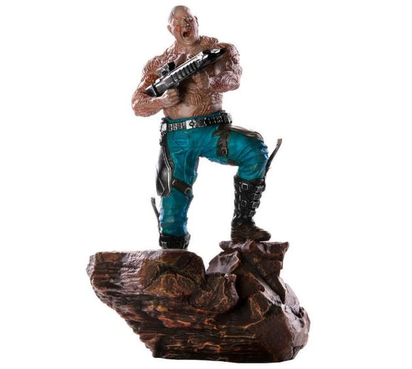 Brazilian Original Iron Studios Avengers Infinity War Drax 1/10 BDS Collectible