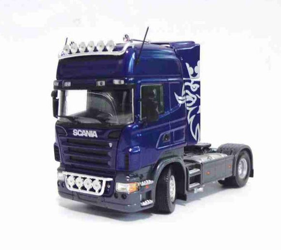 Scania R580 Limited Edition 1:50 Blue Universal Hobbies Car Miniature Collection
