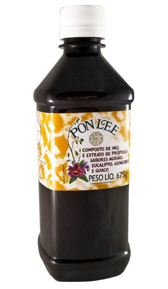 Brazilian Original Honey Syrup Propolis Extract and Herbs Blend 675g - Pon Lee
