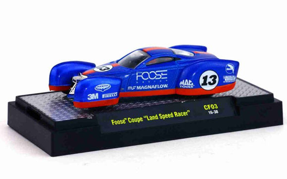1:64 Foose Coupe Land Speed Racer M2 Machines Miniature Collection Figure