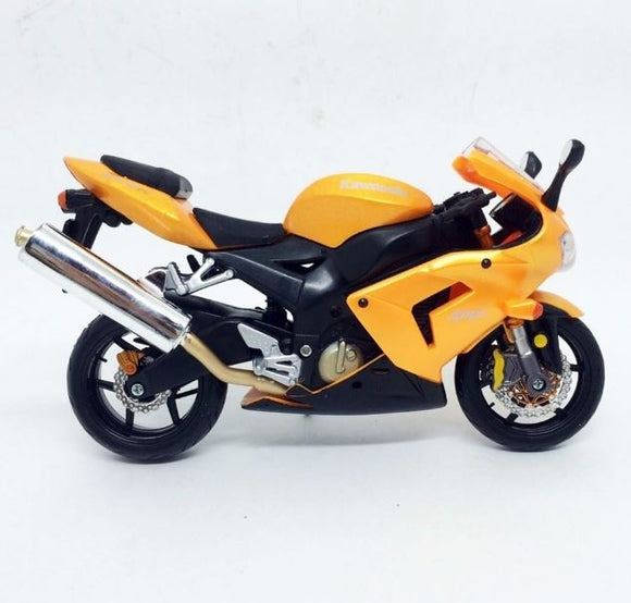 Kawasaki Ninja Zx-10r 1:12 Maisto Orange Motorcycle Metal Miniature Collection