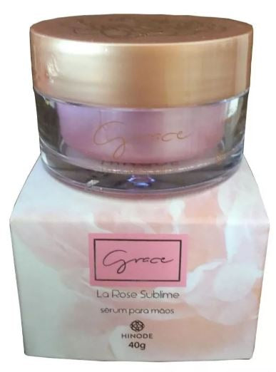 Brazilian Original La Rose Sublime Floral Fragance Grace Hand Serum 40g - Hinode