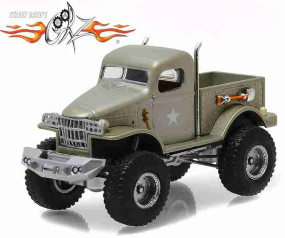 Military Car 1/2 Ton 4×4 1941 Stace David´s 1:64 Greenlight Miniature Collection