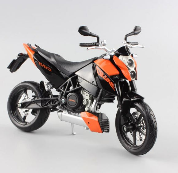 KTM 690 Duke 1:12 Maisto Metal Motorcycle Miniature Collection Figure Art