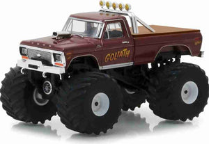 King Of Crunch Ford F250 1979 Goliath 1:64 Greenlight Metal Miniature Collection
