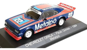Miniature Opal Stock Car 1/43 Paulo Gomes 1984 Metapó Metal Collection Figure
