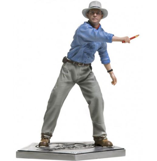Alan Grant 1/10 Jurassic Park Collectible Scale Original Iron Studios