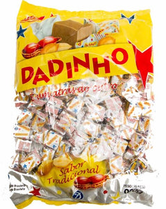 Brazilian Original Traditional Dadinho Peanut Sweet Candy 900g - Dizioli