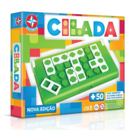 Brazilian Original Board Game Cilada