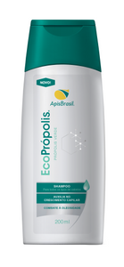 Brazilian EcoPropolis Rosemary Shampoo Against Oiliness 200ml - Apis Brasil