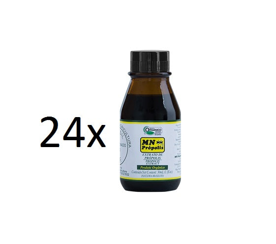 Lot of 24x30ml Original Brazilian Bee Organic Propolis Extract - MN Propolis