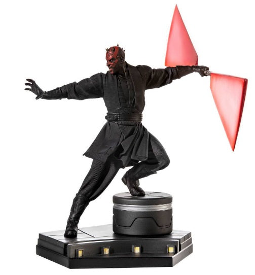 Original Iron Studios Darth Maul Bds Art Scale 1/10 Miniature Collection