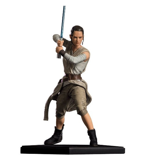 Original Iron Studios Star Wars Rey Art Scale 1/10 Collection Figure Action