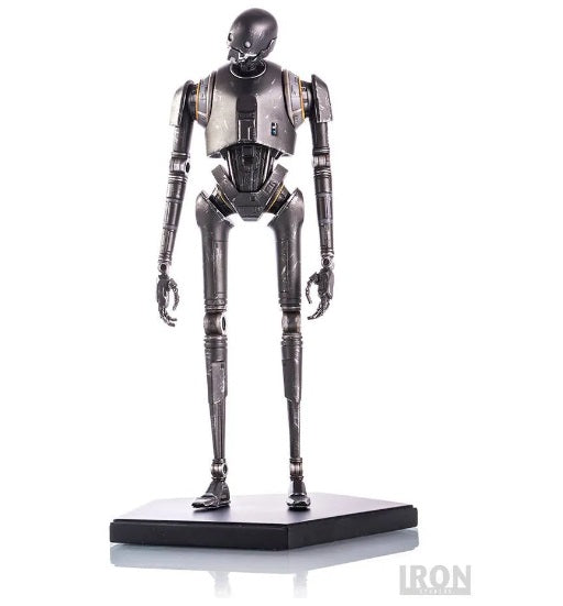 Original Star Wars Rogue One Android K-2so Art Scale 1/10 Miniature Iron Studios